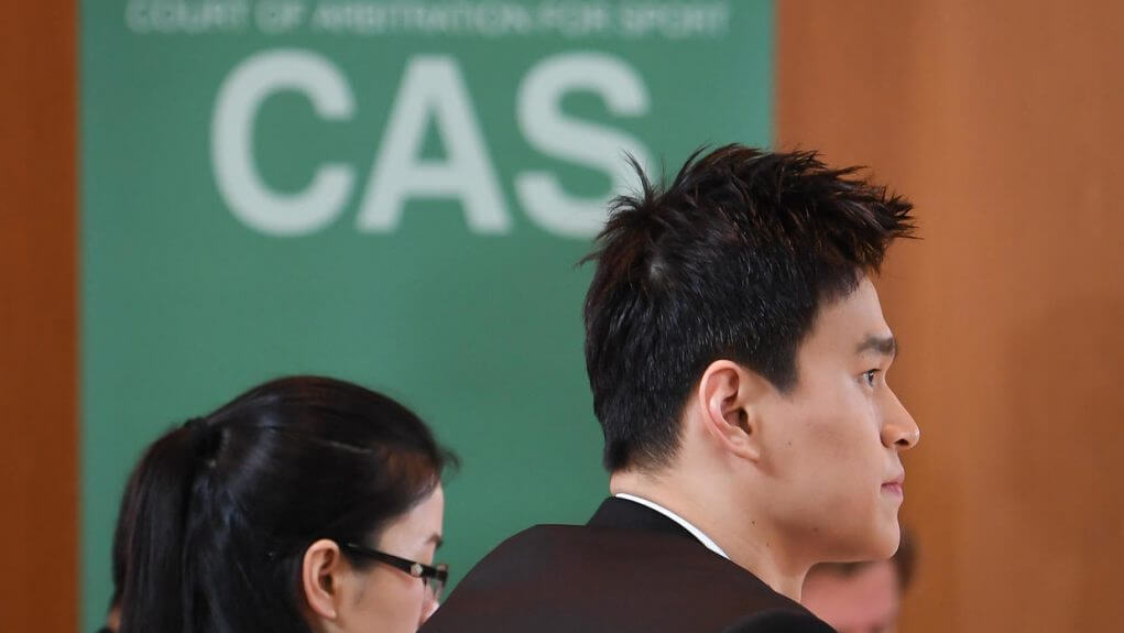 Doping CAS decision on Friday for Chinese swimmer Sun Yang e1582828164952
