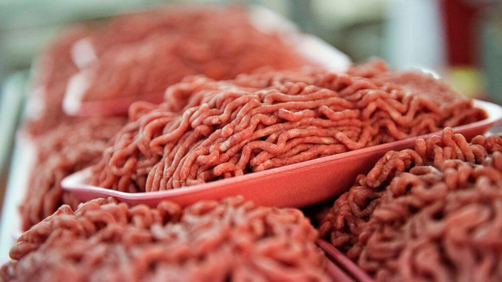 Ground meat recalled due to E coli bacteria