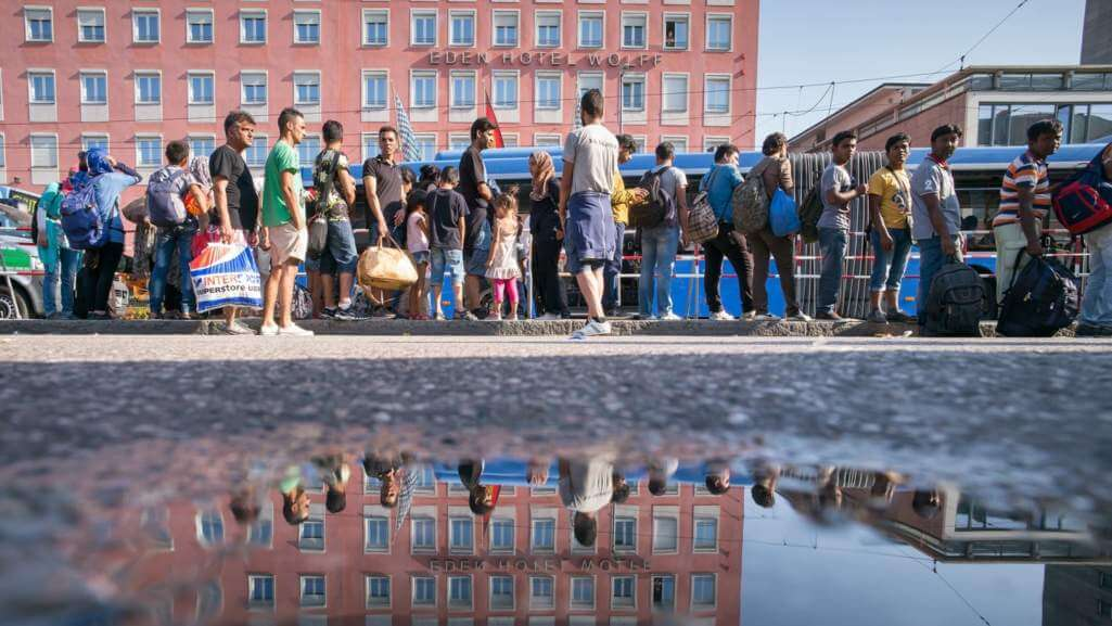 Refugee reception: only a limited safe Haven Berlin