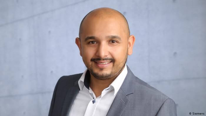 Hamed Hossain, project manager at Siemens