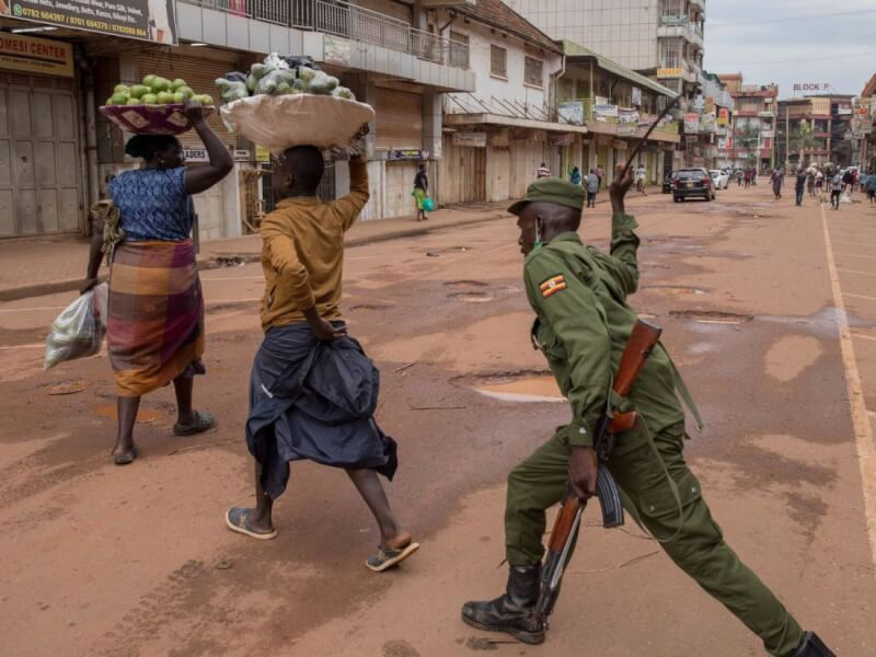 Africa: Curfew is a big problem, army on the ground in civil matters