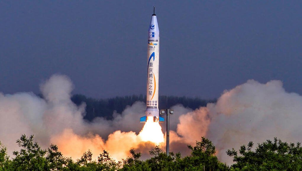 China launches the country's only solid-fuel rocket