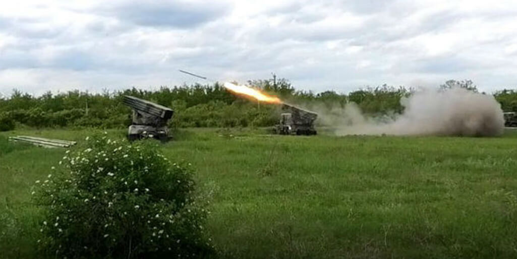 DPR suppressed the firing points