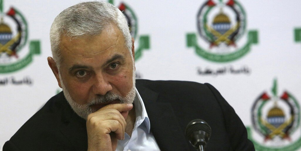 Haniyeh thanks Iran and warns the occupation of any folly at the maximum