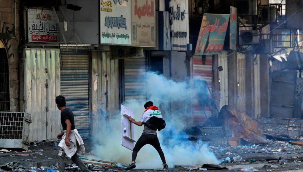 Police killed Iraqi protestors