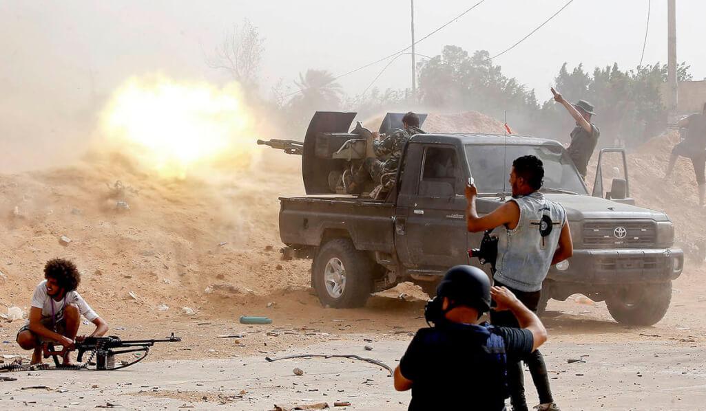 Washington and Paris call for reducing escalation in Libya