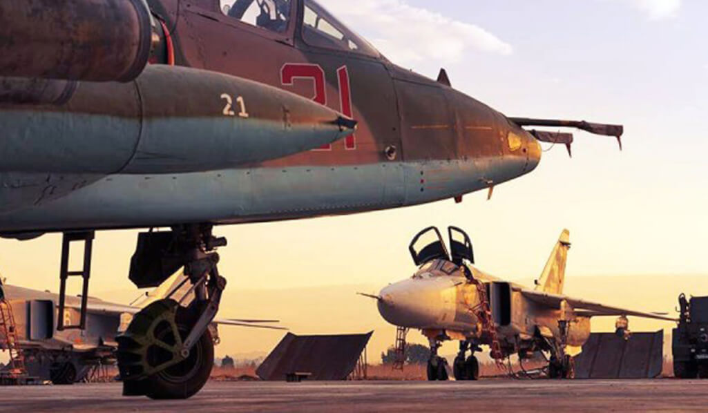 Russian fighter aircraft from Syria to Libya