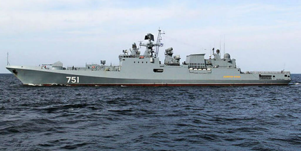 "Russian frigate repelled the attack of ""pirates"" in the Indian Ocean"