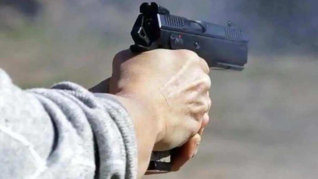 Shooting a man in Assam