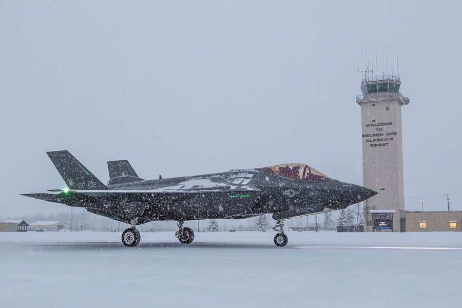 US Defence for Alaska against Russia f-35