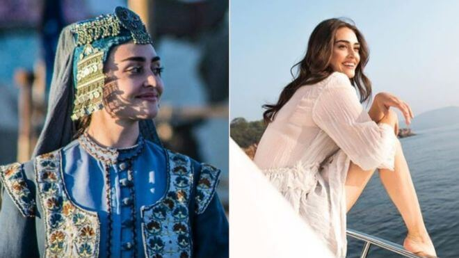 Ressurection ertugrul Netflix YouTube, Halime Hatun: Esra Bilgic