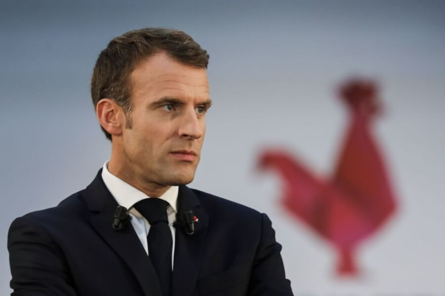 French President Emmanuel Macron says COVID-19 vaccine must be worldwide
