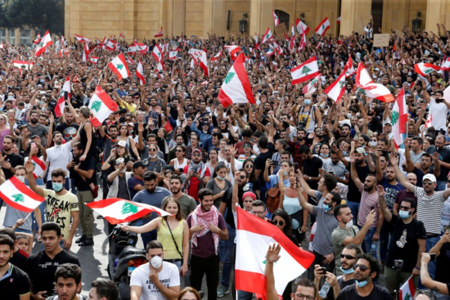 Lebanon : Strong protests over deep economic crisis