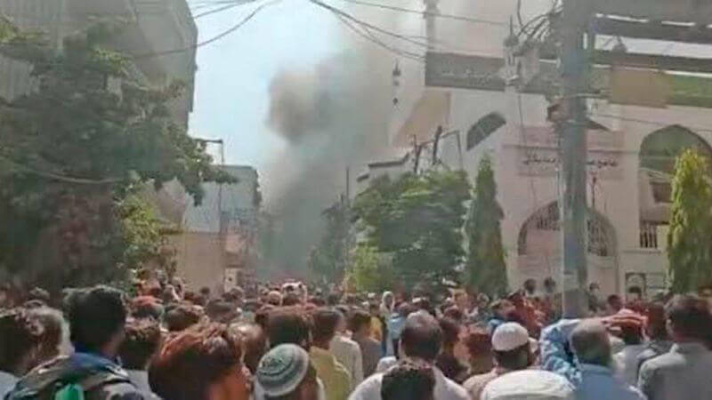 pia crash visuals in karachi