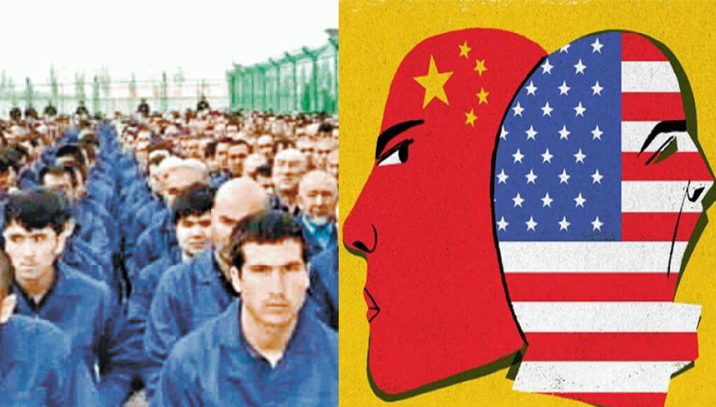 "China, where millions of Uyghurs live in concentration camps, accuses US of ""chronic disease"" of racism"