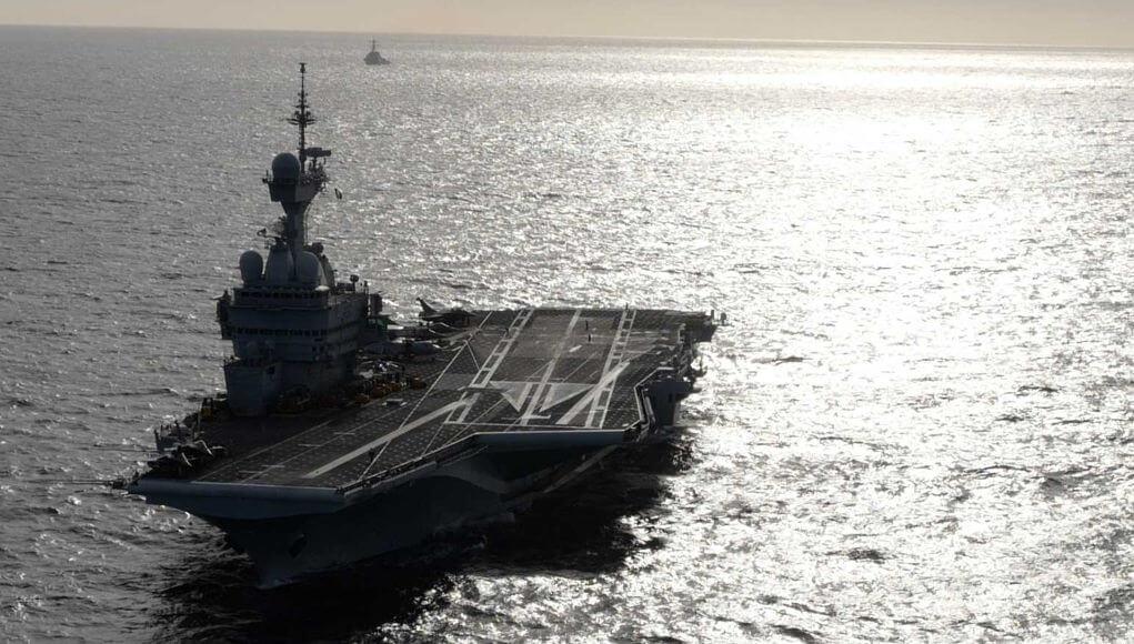 French warship fears turkish RADAR in Mediterranean