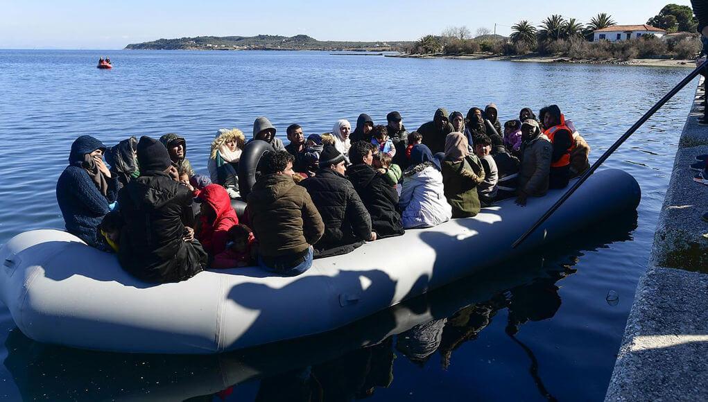 Greece border illegal migration via turkey, illegal migration news