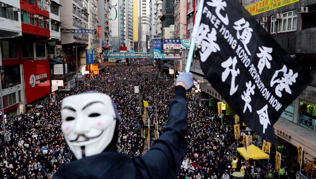 China prepares for war over Hong Kong and Taiwan
