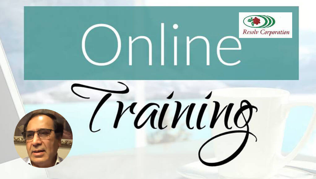 REsolv Corporation, USA, organizes a one-month online training program