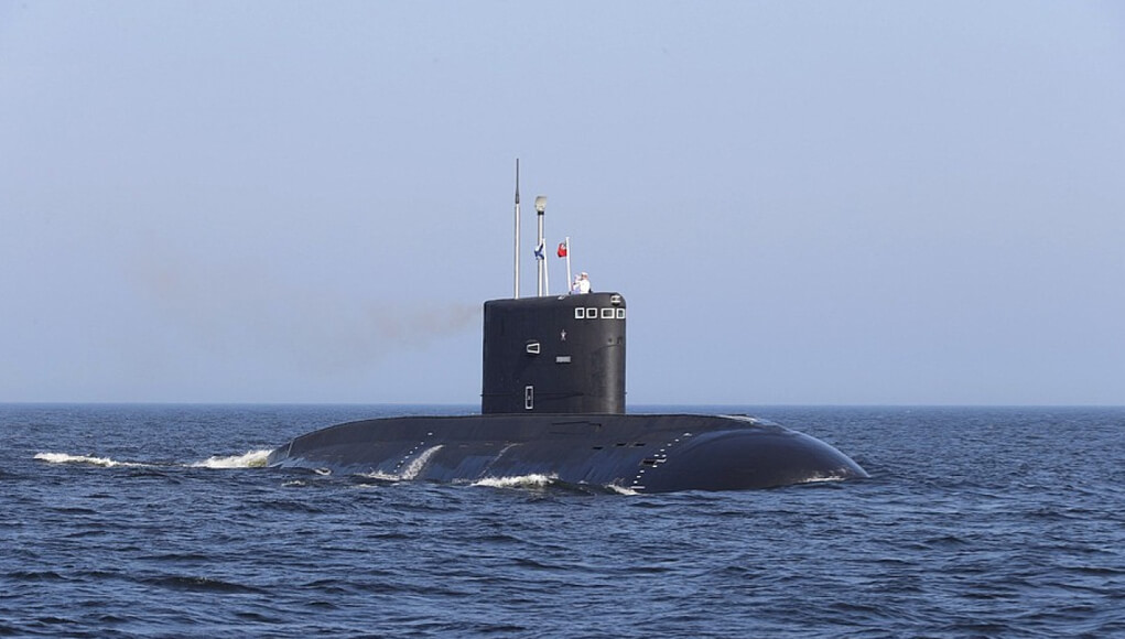 Russian submarine in Atlantic ocean, russia news, military news, war news, world news, usa news, america, asia news, eurasia news; The Eastern Herald News