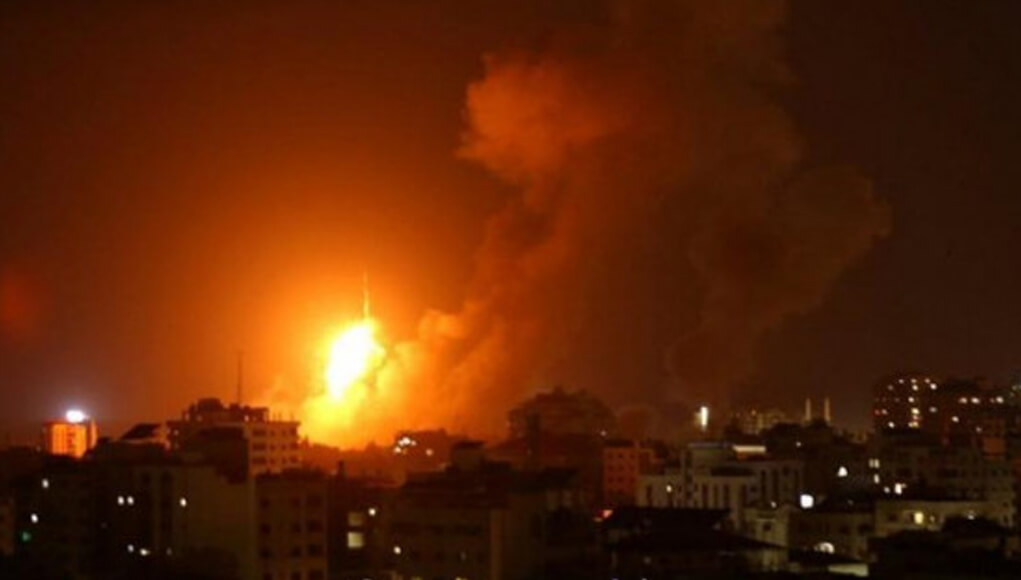 israeli aircraft raid gaza city, Gaza city news, israel, palestine news, israel occupation in gaza, palestinian authority, israel occupied palestine news. world news, breaking news, latest news; The Eastern Herald News