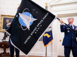 Donald Trump creates space troops in United States