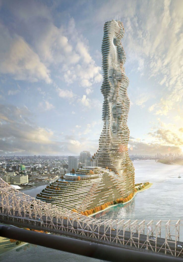 Croatia's 60-story high-rise skyscraper green building to control carbon emissions