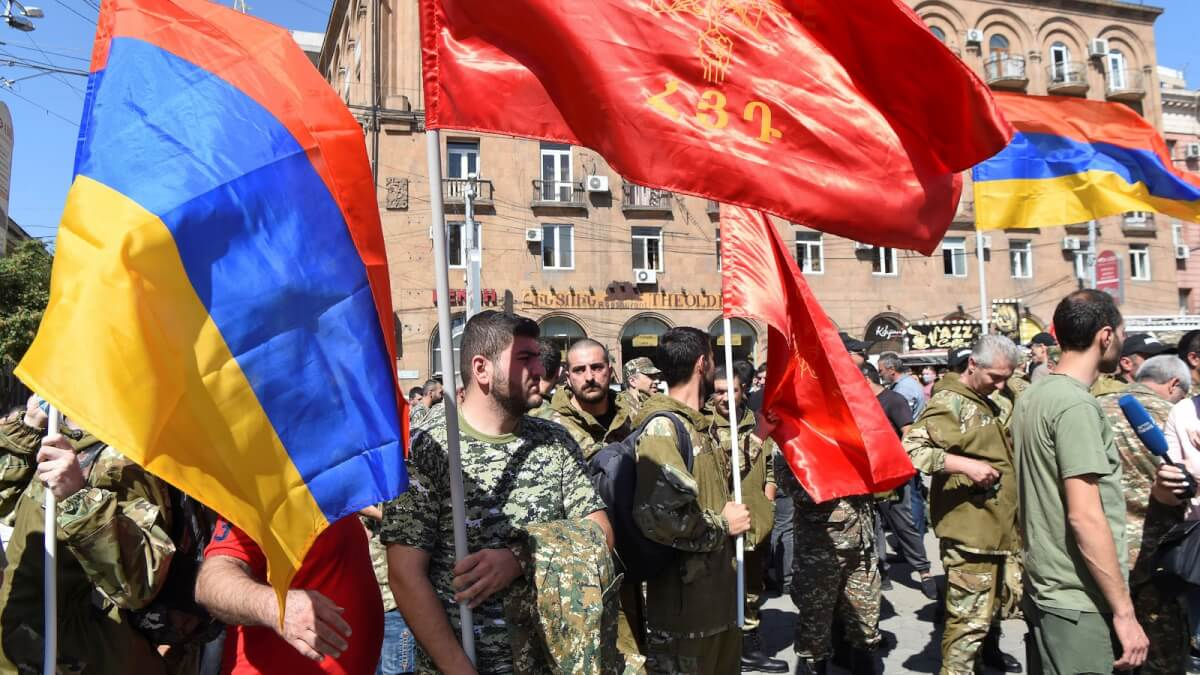 Armenian in Russia to defend Nagorno-Karabakh against Azerbaijan