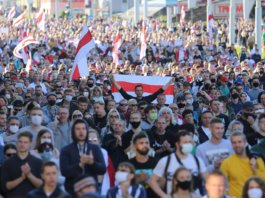 430 people detained at Saturday protests in Belarus