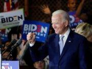 US presidential election: Biden ahead of Trump in three key states - polls