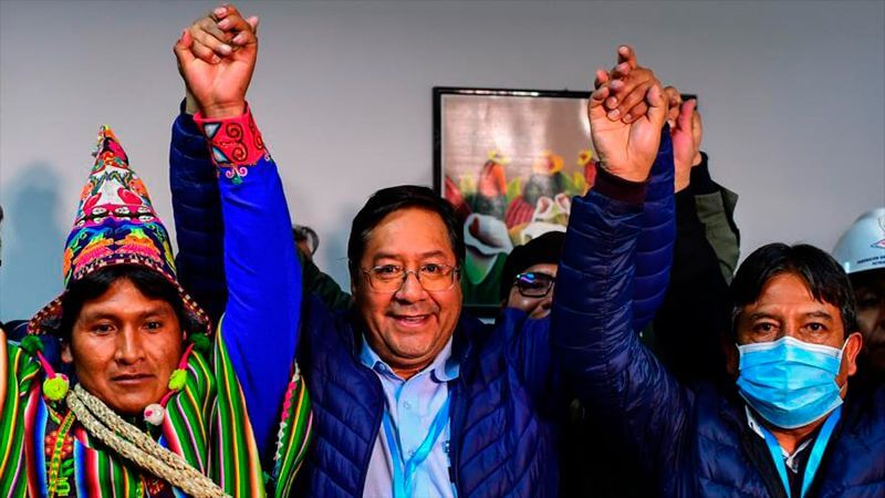 Luis Arce won the Bolivian presidential elections
