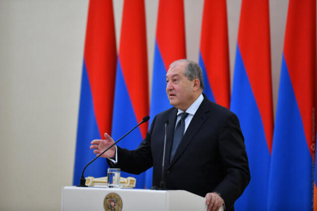 Armen Sarkissian, Armenia, Azerbaijan, Ilham Aliyev, Moscow, Nagorno-Karabakh, Nikol Pashinyan, President of Russia, Vladimir Putin, Republic of Artsakh, Azerbaijan Armenia Conflict,