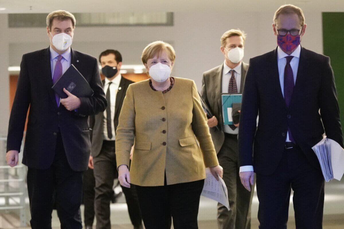 "Merkel imposes even tougher ""lockdown"" in the whole Germany"