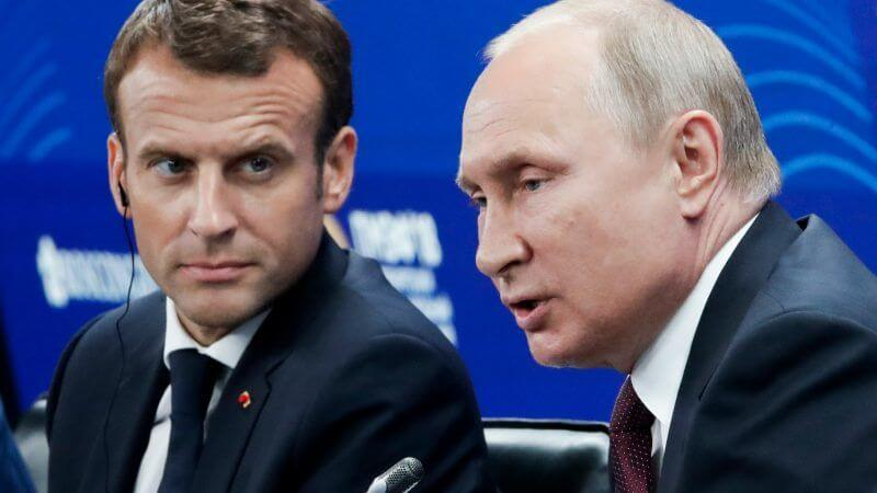 France calls for effective sanctions against Russia