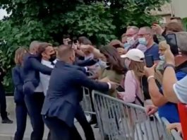 Psychologists explain the slap in the face to Macron: planned the action in advance