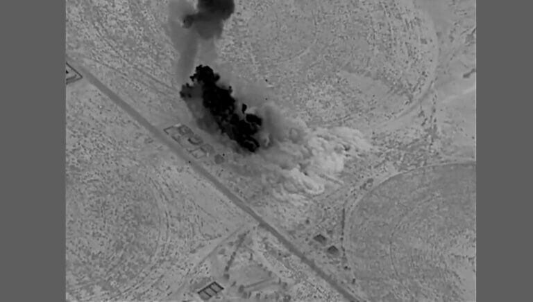 US strikes in Iraq.. direct injuries and panic among the militias