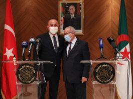 turkey-Mevlut Cavusoglu-algeria-Ramtane Lamamra-relations-news